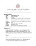 Roark (William) Papers, 1832-1862