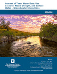Internet of Texas Water Data: Use Cases for Flood, Drought, and Surface Water –Groundwater Interaction