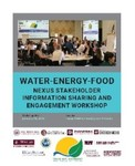 Water-Energy-Food Nexus Stakeholder Information Sharing and Engagement Workshop